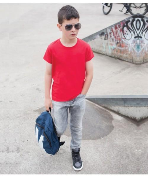 Plain T-Shirt Stretch Skinnifit 190 GSM Kids