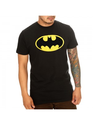 BATMAN LOGO T Shirt Official Licensed T Shirt, 100% Cotton BATMAN T Shirt