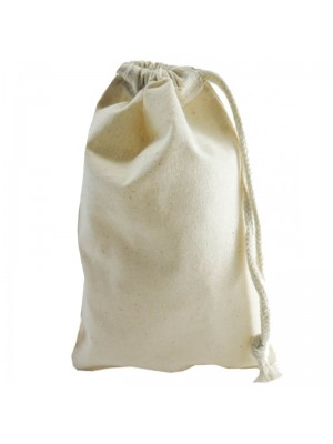 Daily use cotton natural stuff drawstring bags