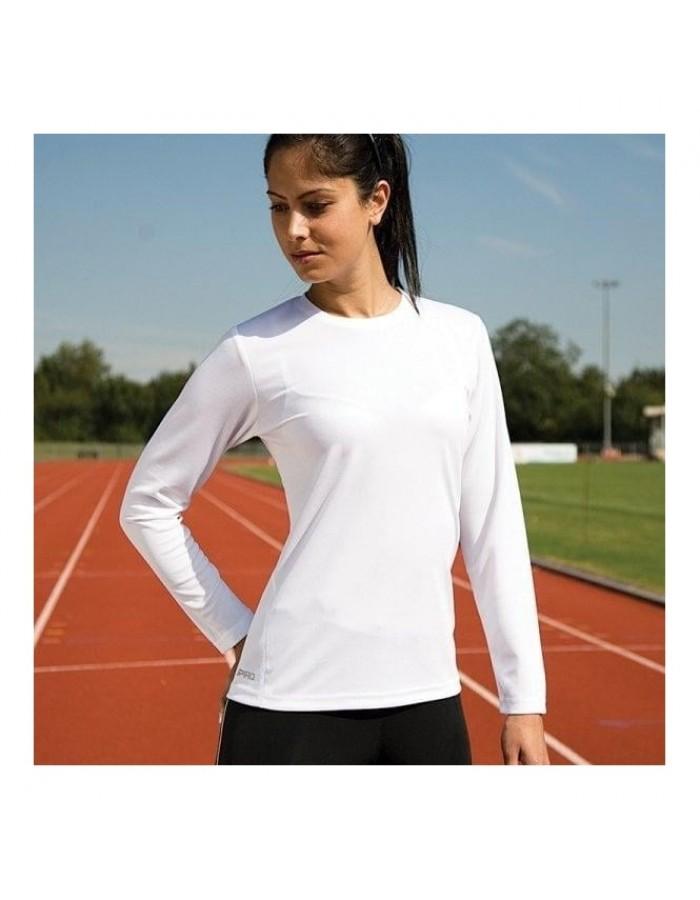 Plain t-shirt long sleeve Spiro 160 GSM