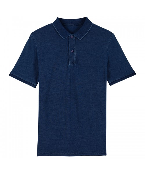 Sustainable & Organic Polos Stanley Dedicator denim polo (STPM564) Adults  Ecological STANLEY/STELLA brand wear