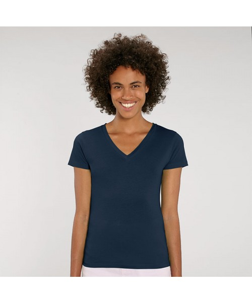 Sustainable & Organic T-Shirts Women's Stella Evoker v-neck t-shirt (STTW023) Adults  Ecological STANLEY/STELLA brand wear
