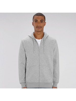Sustainable & Organic Sweatshirts Unisex Connector essential zip-thru hoodie sweatshirt (STSU820) Adults  Ecological STANLEY/STELLA brand wear