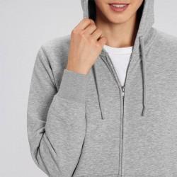 Sustainable & Organic Sweatshirts Unisex Connector essential zip-thru hoodie sweatshirt (STSU820) Adults  Ecological STANLEY/STELLA brand wear