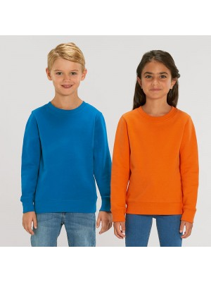 Sustainable & Organic Sweatshirts Kids mini Changer iconic crew neck sweatshirt (STSK913) Kids  Ecological STANLEY/STELLA brand wear