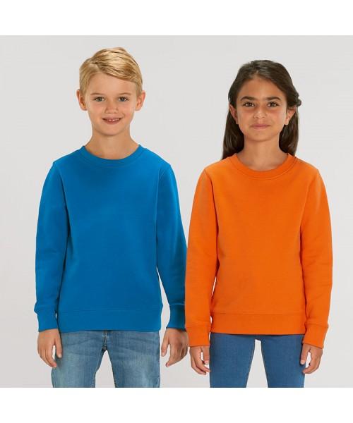 Sustainable & Organic Sweatshirts Kids mini Changer iconic crew neck sweatshirt (STSK913) Kids  Ecological STANLEY/STELLA brand wear