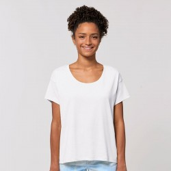 Sustainable & Organic T-Shirts Women's Stella Chiller scoop neck relaxed fit t-shirt (STTW036) Adults  Ecological STANLEY/STELLA brand wear