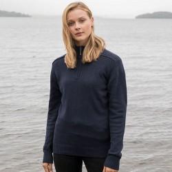 Sustainable & Organic Sweatshirts Wakhan ¼ regen zip knit sweater Adults  Ecological AWDis Ecologie brand wear