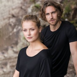Sustainable & Organic T-Shirts Daintree EcoViscose tee Adults  Ecological AWDis Ecologie brand wear