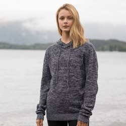 Sustainable & Organic Hoodie Iguazu regen knitted hoodie Adults  Ecological AWDis Ecologie brand wear