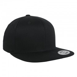Sustainable & Organic Caps Organic cotton snapback (6089OC)   Ecological FLEXFIT by YUPOONG brand wear