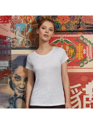 Sustainable & Organic T-Shirts B&C Inspire slub T /women Adults  Ecological B&C Collection brand wear