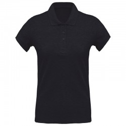Sustainable & Organic Polos Women's organic piqué short sleeve polo shirt Adults  Ecological KARIBAN brand wear