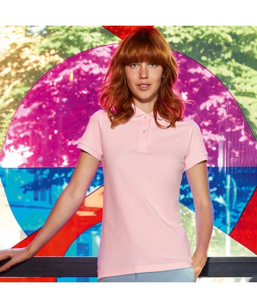 Sustainable & Organic Polos B&C Inspire polo /women Adults  Ecological B&C Collection brand wear