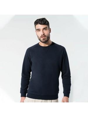 Sustainable & Organic Sweatshirts Organic cotton crew neck raglan sleeve sweatshirt Adults  Ecological KARIBAN brand wear