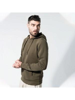 Sustainable & Organic Hoodie Organic hoodie Adults  Ecological KARIBAN brand wear