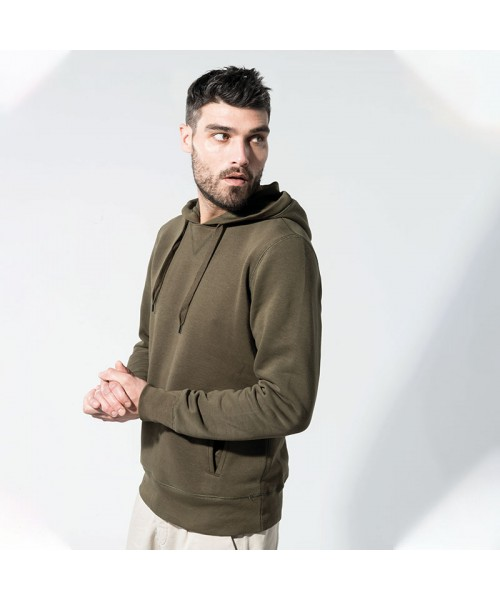 Sustainable & Organic Hoodie Organic hoodie Adults  Ecological KARIBAN brand wear