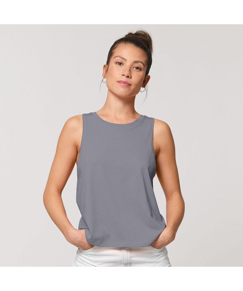 Sustainable & Organic Vest Women's Stella Dancer crop tank top (STTW038) Adults  Ecological STANLEY/STELLA brand wear