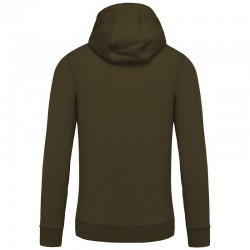Sustainable & Organic Hoodie Organic zipped hoodie Adults  Ecological KARIBAN brand wear
