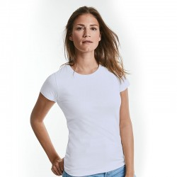 Sustainable & Organic T-Shirts Women's pure organic tee Adults  Ecological Russell brand wear