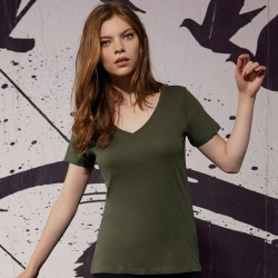 Sustainable & Organic T-Shirts B&C Inspire V T /women Adults  Ecological B&C Collection brand wear