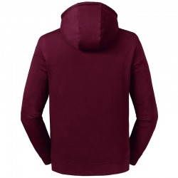 Sustainable & Organic Sweatshirts Pure organic high collar hooded sweatshirt Adults  Ecological Russell brand wear