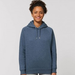 Sustainable & Organic Hoodie Sider unisex side pocket hoodie (STSU824) Adults  Ecological STANLEY/STELLA brand wear