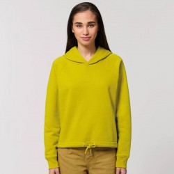Sustainable & Organic Hoodie Women's Stella Bower cropped hoodie (STSW132) Adults  Ecological STANLEY/STELLA brand wear