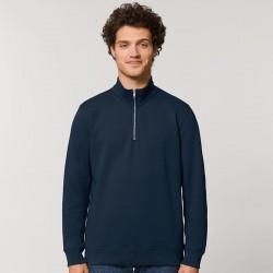 Sustainable & Organic Sweatshirts Stanley Trucker quarter-zip sweatshirt (STSM611) Adults  Ecological STANLEY/STELLA brand wear