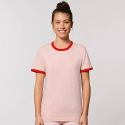Sustainable & Organic T-Shirts Ringer unisex t-shirt (STTU827) Adults  Ecological STANLEY/STELLA brand wear