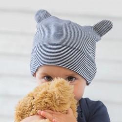 Sustainable & Organic Babywear Little hat with ears Kids  Ecological BABYBUGZ brand wear