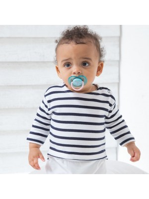 Sustainable & Organic Babywear Baby Breton top Kids  Ecological BABYBUGZ brand wear