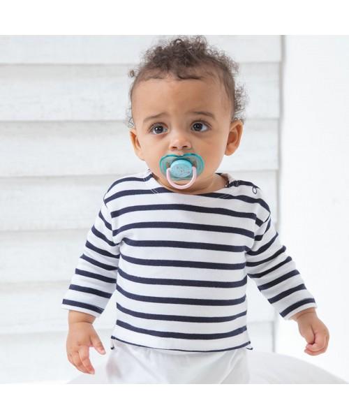 Sustainable & Organic Babywear Baby Breton top Kids  Ecological BABYBUGZ brand wear