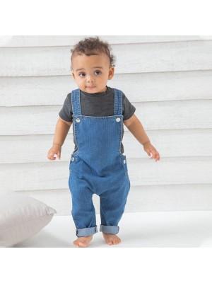 Sustainable & Organic Babywear Baby Rocks denim dungarees Kids  Ecological BABYBUGZ brand wear