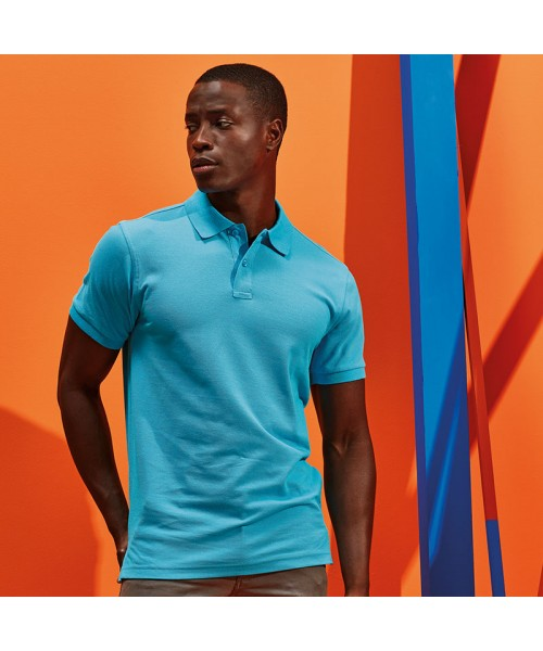 Sustainable & Organic T-Shirts Men's organic polo Adults  Ecological Asquith & Fox brand wear