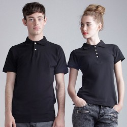 Plain Women's thick and thin polo shirt SF 200 GSM
