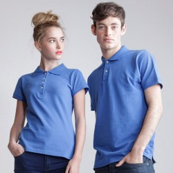 Plain Women's thick and thin polo shirt SF 200 GSM