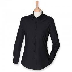 Plain Shirt Roll Sleeve Skinnifit 110 GSM