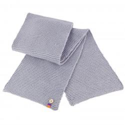 Plain Button trim scarf Result