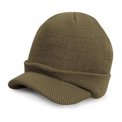 Plain Kids Esco army knitted hat Result