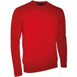 Plain Lambswool crew neck sweater Glenmuir1891 15 Gauge GSM