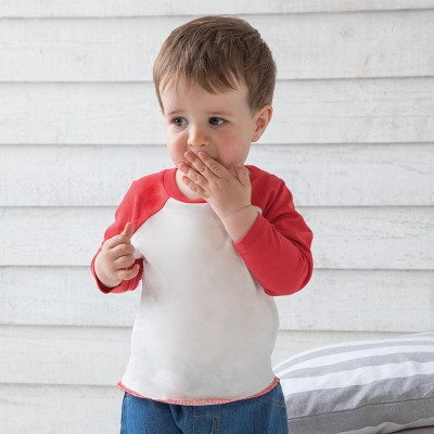 Sustainable & Organic Babywear Baby baseball T Kids  Ecological BABYBUGZ brand wear