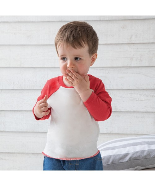 Sustainable & Organic Babywear Baby baseball T Kids  Ecological BABYBUGZ brand wear