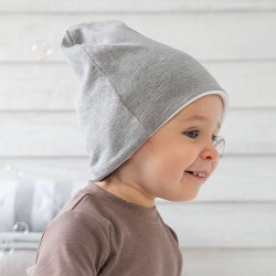 Sustainable & Organic Babywear Reversible slouch hat Kids  Ecological BABYBUGZ brand wear