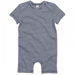 Sustainable & Organic Babywear Baby striped playsuit Kids  Ecological BABYBUGZ brand wear