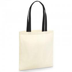 Sustainable & Organic Bags EarthAware® organic bag for life - contrast handles   Ecological Westford Mill brand wear