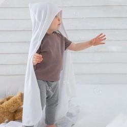 Sustainable & Organic Babywear Baby organic hooded blanket Kids  Ecological BABYBUGZ brand wear