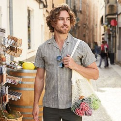 Sustainable & Organic Bags Organic cotton mesh grocery bag   Ecological Westford Mill brand wear