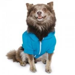 Plain dog zip hoodie Flex fleece American Apparel 278 GSM