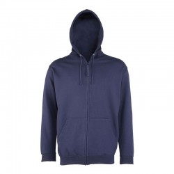 Plain Zoodie zip AWDis Just Hoods 280 GSM